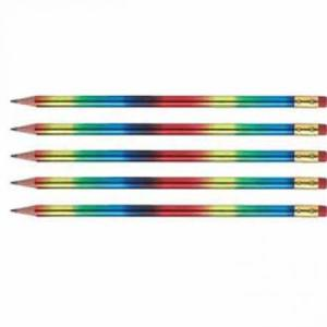 Rainbow Pencil with Eraser
