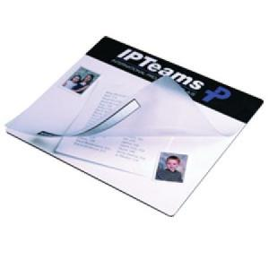 See Through Mouse Mat Printed One Colour