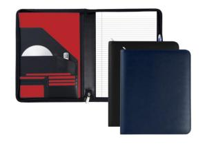 Malvern A4 Zipped Round Conference Folder 