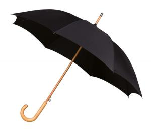 Executive WoodCrook Walking Umbrella