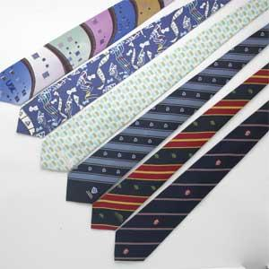 Polyester Micro Woven Polyester Tie