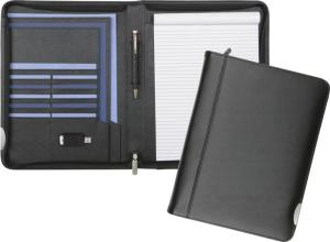 Fordcombe Leather Zipped Conference Folder