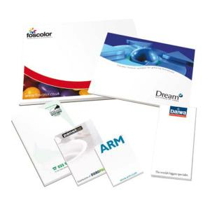 A4 50 Sheet 80gsm Desk/Conference Pad Printed Full Colour