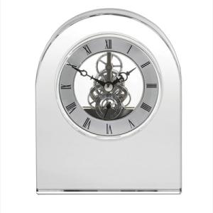 Royal Scot Contemporary Dome Crystal Clock