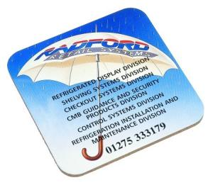 Aluminium Coaster Printed Full Colour