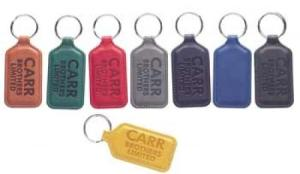 High Quality Soft Touch Belluno PU Key Fob