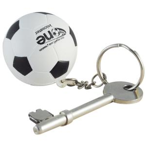 Football Stress Relieving Keyring