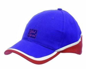 Tri-Coloured Heavy Brushed Cotton Low Profile Baseball Cap