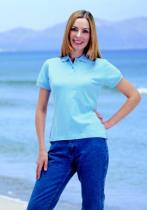 Fruit of the Loom  Ladies Fitted Polo Shirt